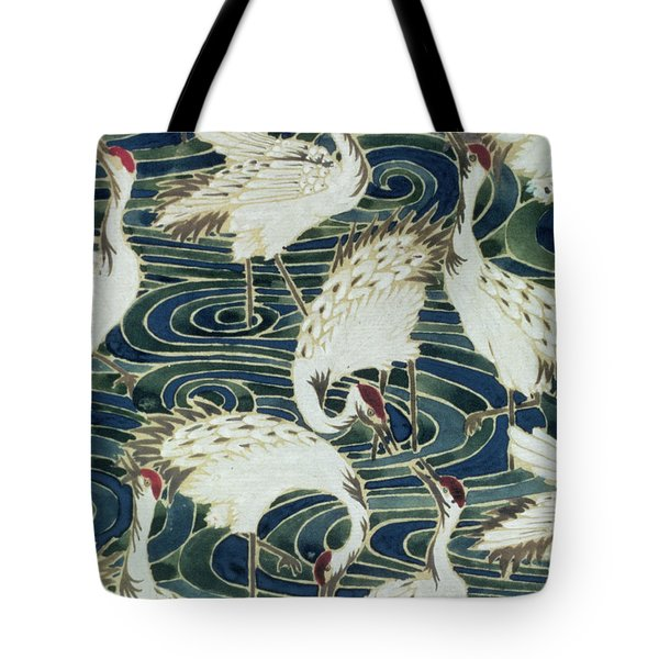 Vintage Wallpaper Design Tote Bag