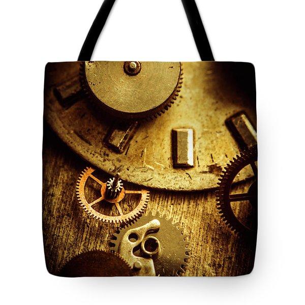 Vintage Watch Parts Tote Bag