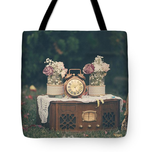 Vintage Wedding Decoration Still Life Tote Bag