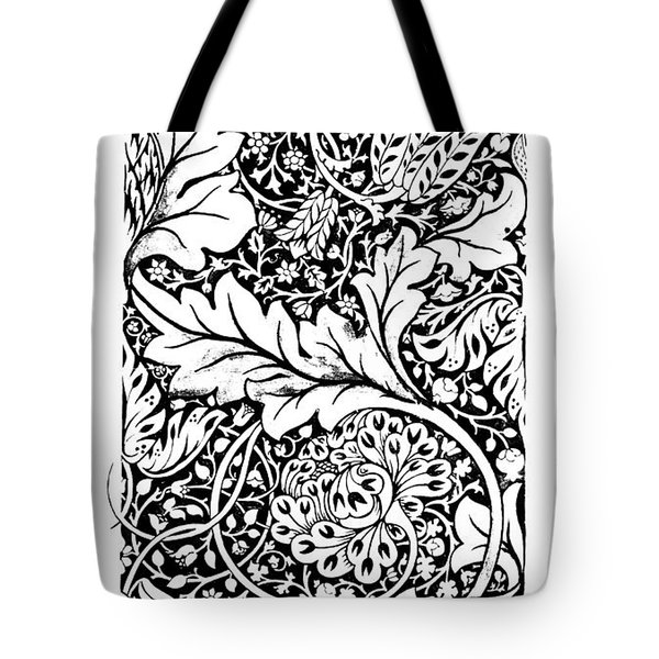 Vintage William Morris Textile Pattern Design Tote Bag