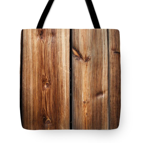 Vintage Wood Planks Tote Bag