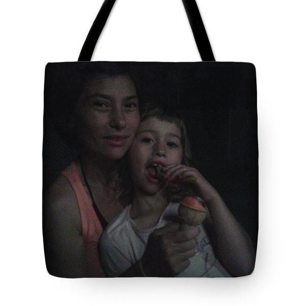 Vio E Francy One Part Of My Breath Tote Bag by Giuseppe Epifani