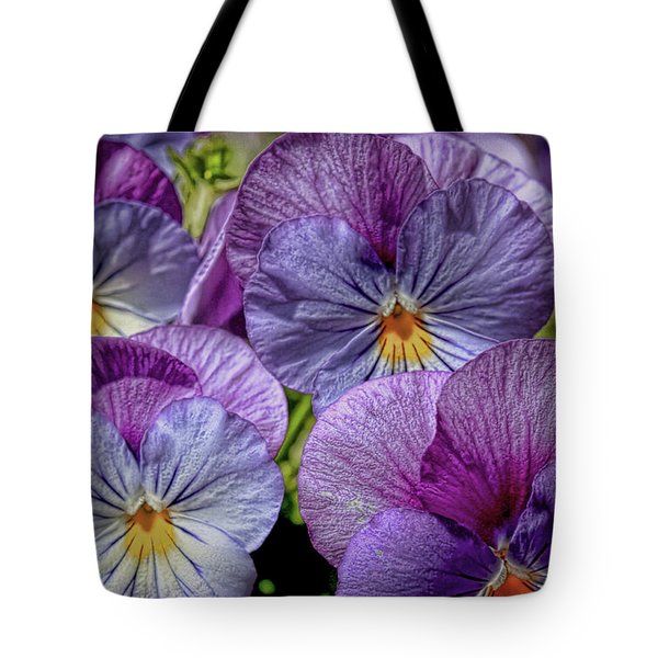 Tote Bag featuring the photograph Viola by Bonnie Willis