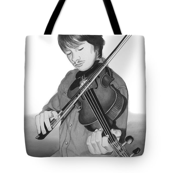 Tote Bag featuring the painting Viola Master by Ferrel Cordle