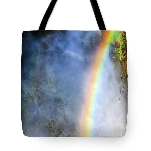Violent Beauty Tote Bag