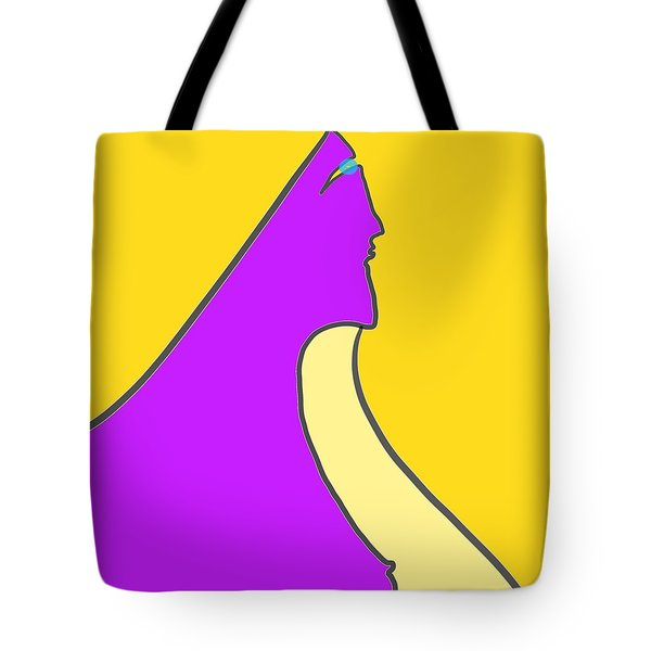 Violet Blonde Tote Bag
