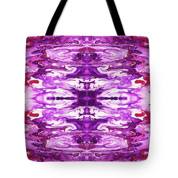 Violet Groove- Art By Linda Woods Tote Bag