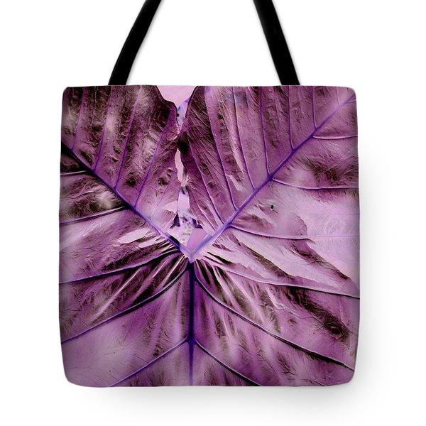 Violet Heart Tote Bag