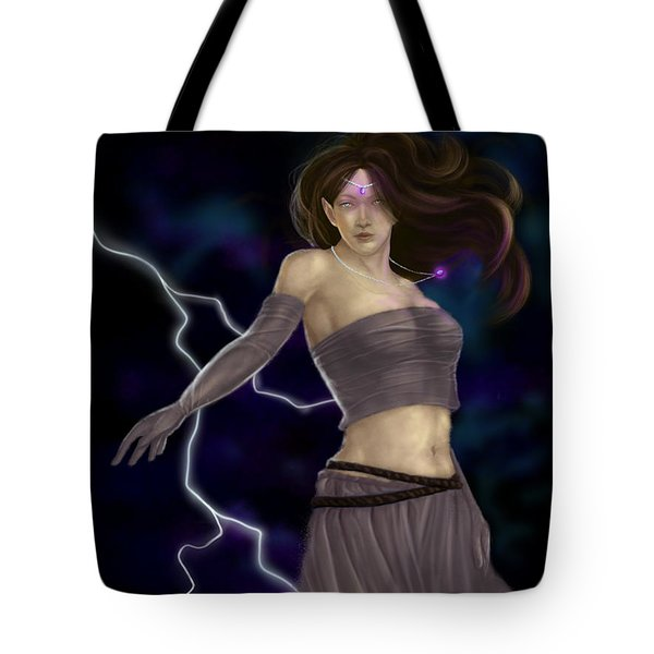 Violet Magic Tote Bag