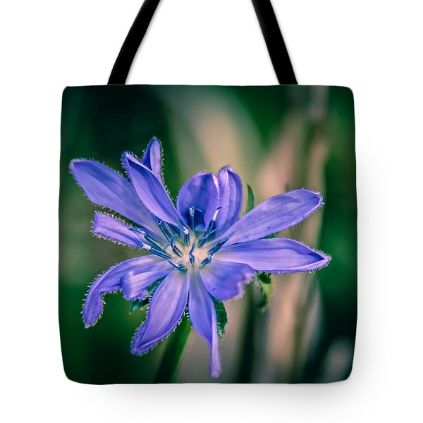 Tote Bag featuring the photograph Violet by Michaela Preston