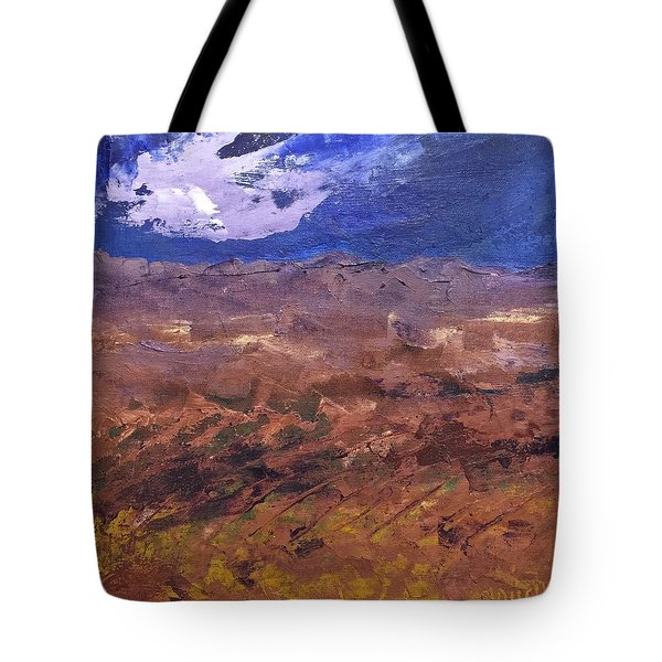 Violet Night  Tote Bag