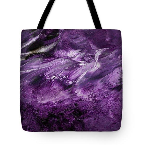 Violet Rhapsody- Art By Linda Woods Tote Bag