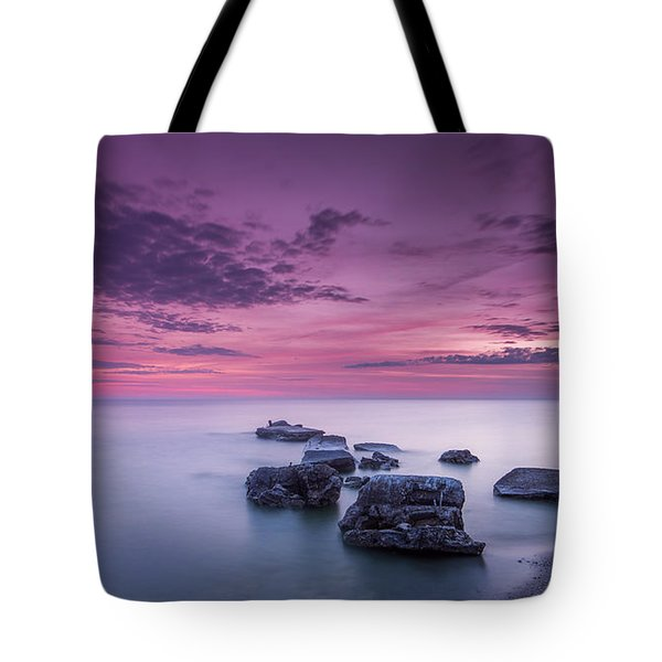 Violet Skies Tote Bag