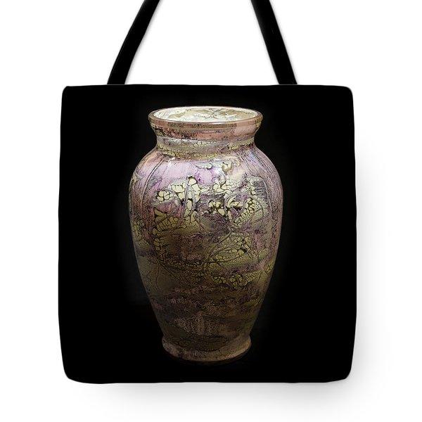 Violet Vase Tote Bag
