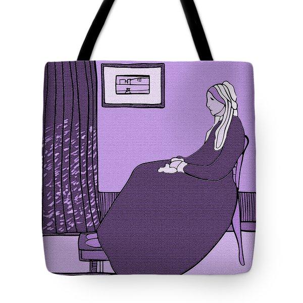 Violet Whistler's Mother Tote Bag