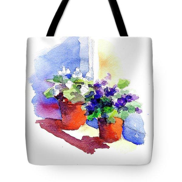 Violets Are Blue Tote Bag