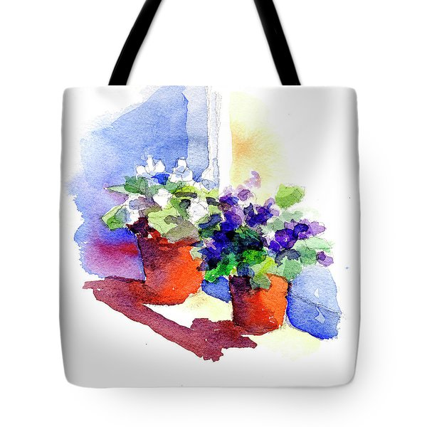 Violets Are Blue Tote Bag