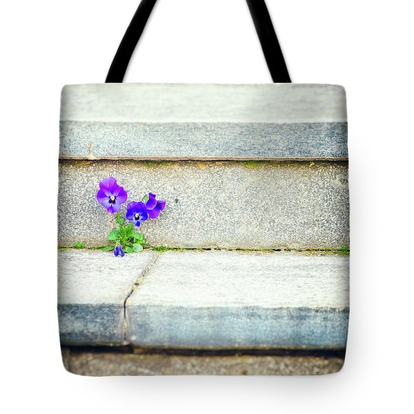 Tote Bag featuring the photograph Violets    by Silvia Ganora