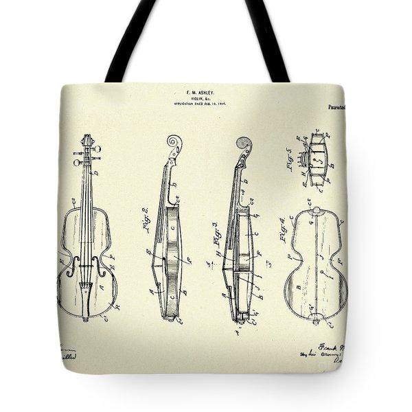 Violin-1921 Tote Bag