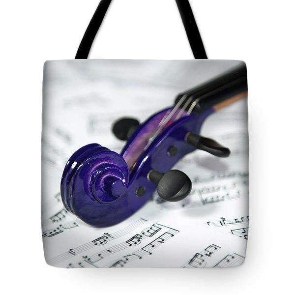 Violin Tuning Pegs  Tote Bag