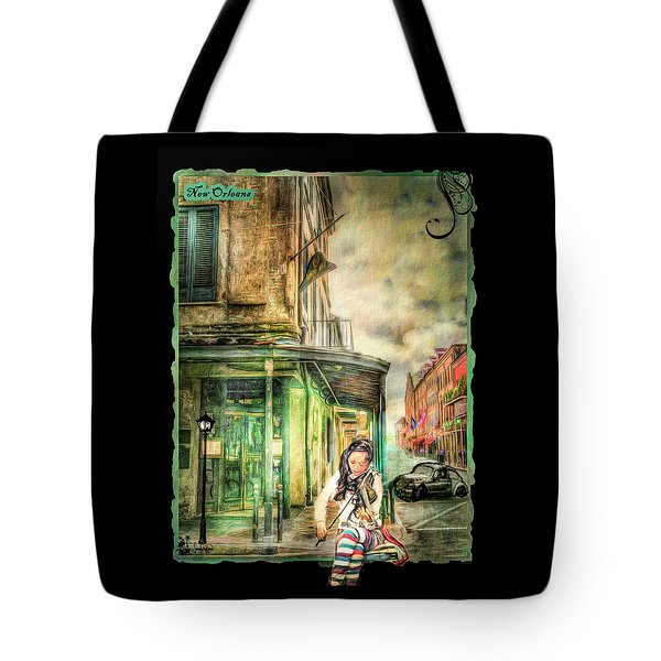 Violinist Evening Tote Bag