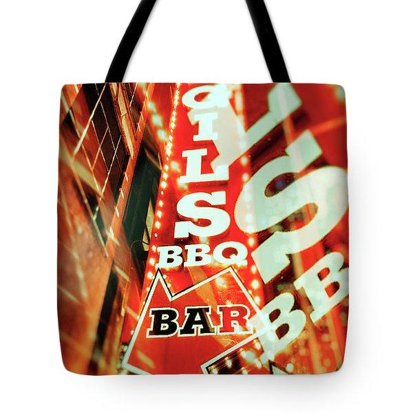 Virgils Real Bbq New York City Tote Bag