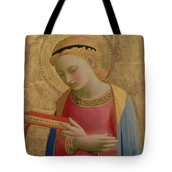 Virgin Annunciate Tote Bag by Fra Angelico