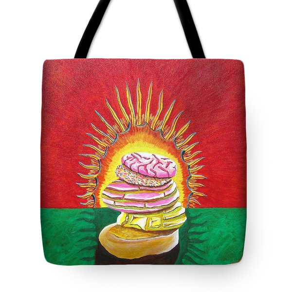 Virgin Mexican Sweet Bread Tote Bag