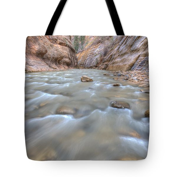 Tote Bag featuring the photograph Virgin River 2 by Paul Schultz