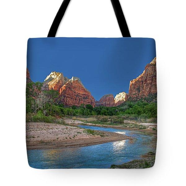 Virgin River Bend Tote Bag