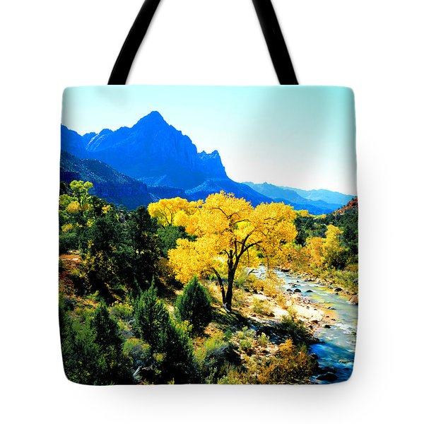 Virgin River Tote Bag