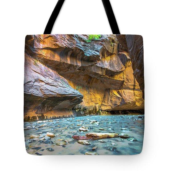 Virgin River Narrows Tote Bag