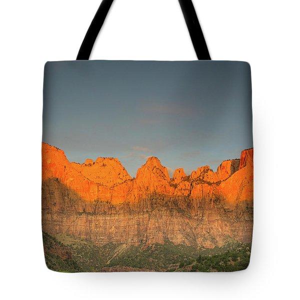 Virgin Sunset Tote Bag