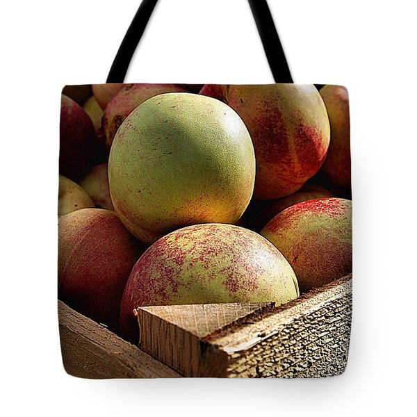 Virginia Apples  Tote Bag by John S