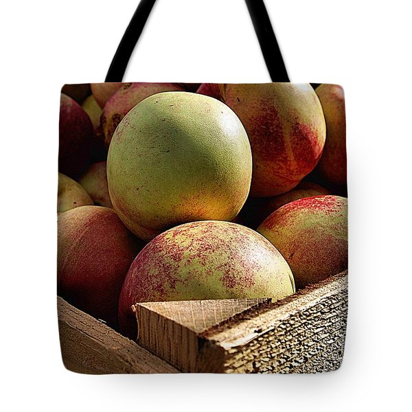 Virginia Apples  Tote Bag