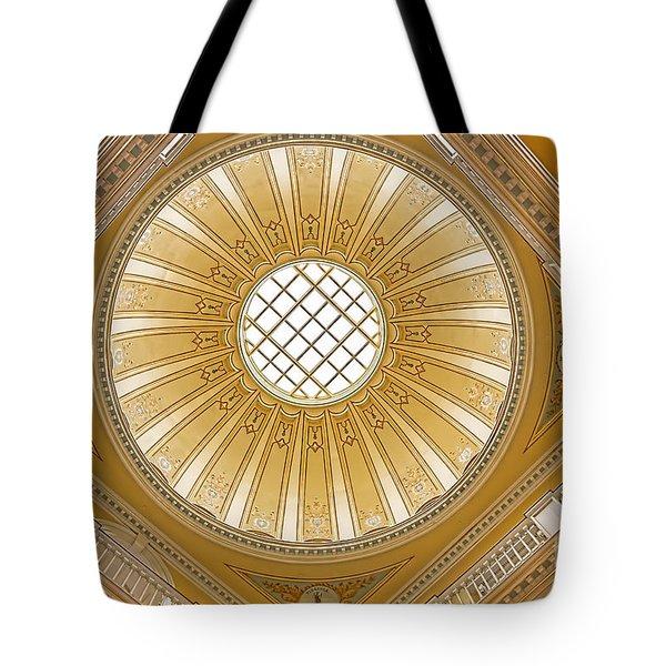 Virginia Capitol - Dome Tote Bag