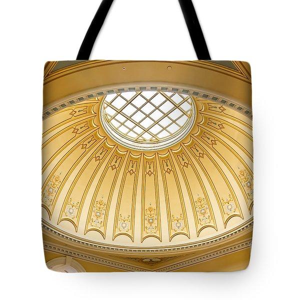 Virginia Capitol - Dome Profile Tote Bag