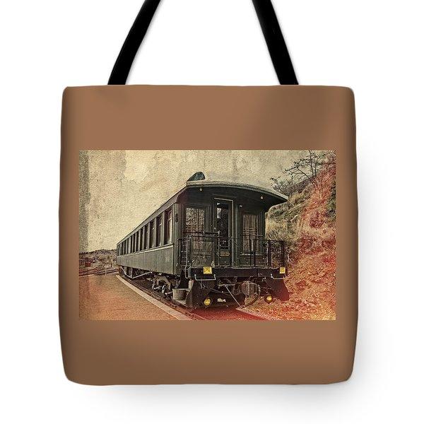 Virginia City Pullman Car Tote Bag