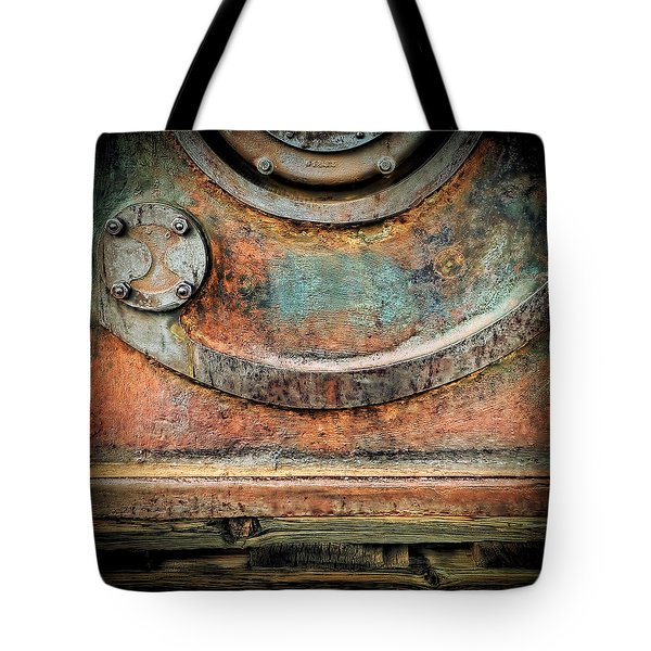 Tote Bag featuring the photograph Virginia City Rust by Steve Siri