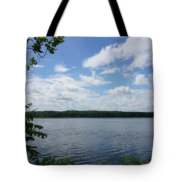 Virginia Lake Tote Bag