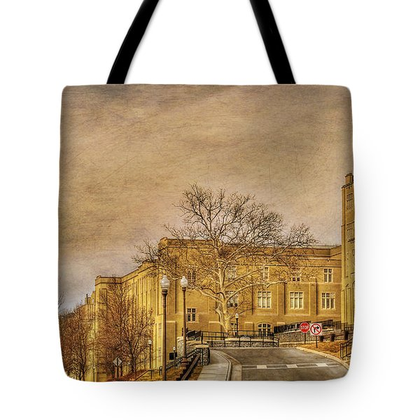 Virginia Military Institute Tote Bag by Todd Hostetter