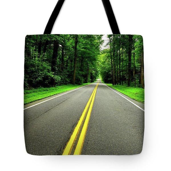 Virginia Road Tote Bag