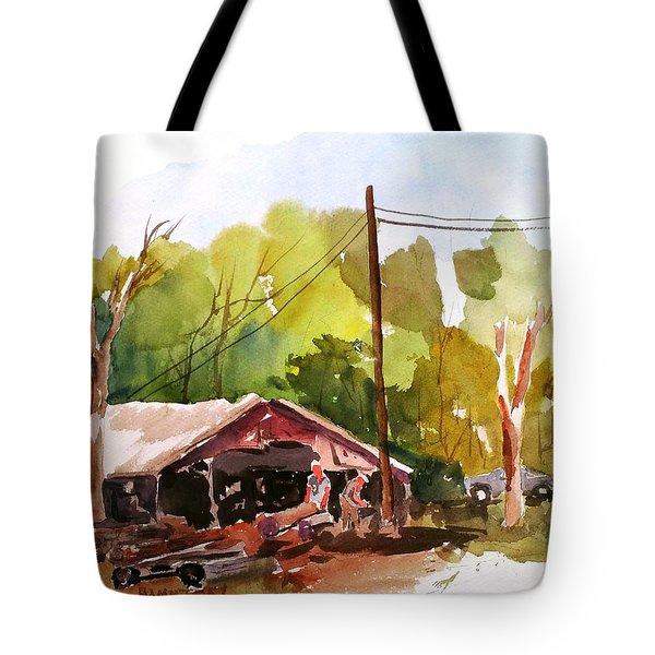 Virginia Saw Mill Tote Bag