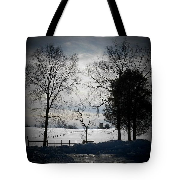 Virginia Snow Tote Bag