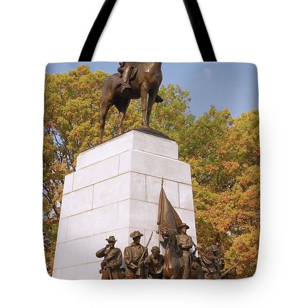 Virginia State Monument Tote Bag