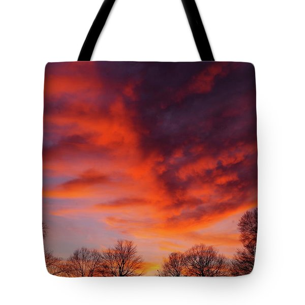 Virginia Sunset Tote Bag