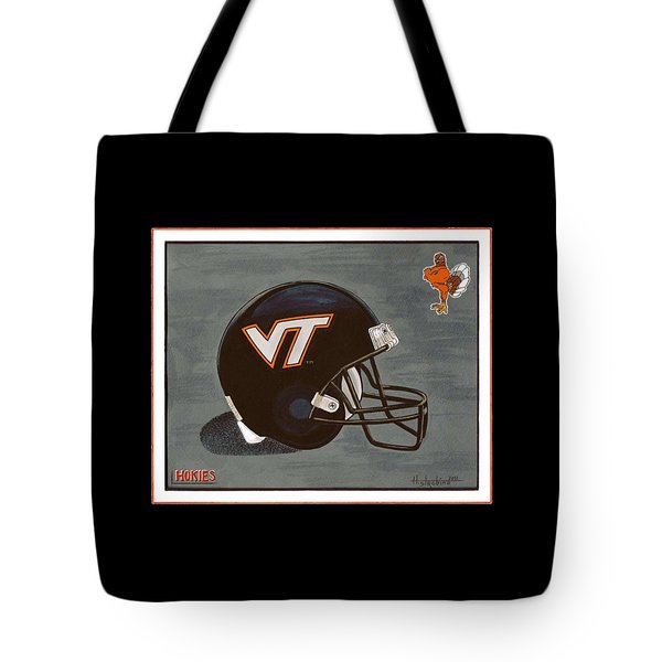 Virginia Tech T-shirt Tote Bag