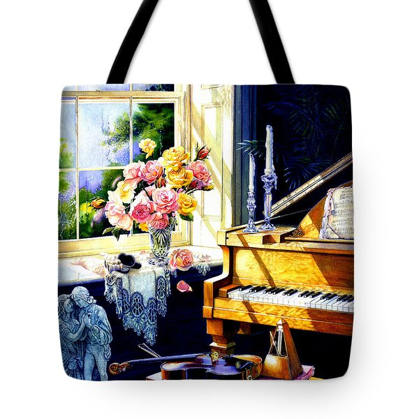 Virginia Waltz Tote Bag