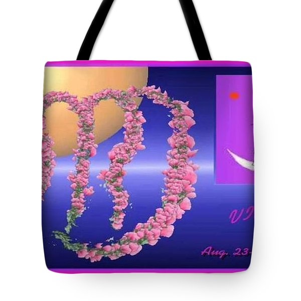 Tote Bag featuring the digital art Virgo by The Art of Alice Terrill