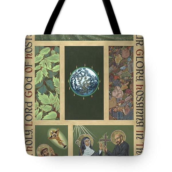 Viriditas - Finding God In All Things Tote Bag